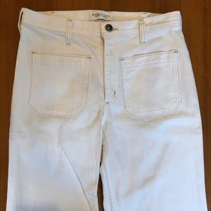 NWOT Habitual Wide Leg High Rise White Jeans